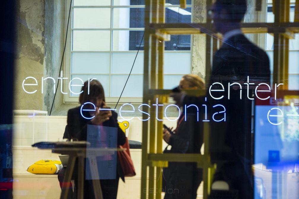 Enter e-estonia sign