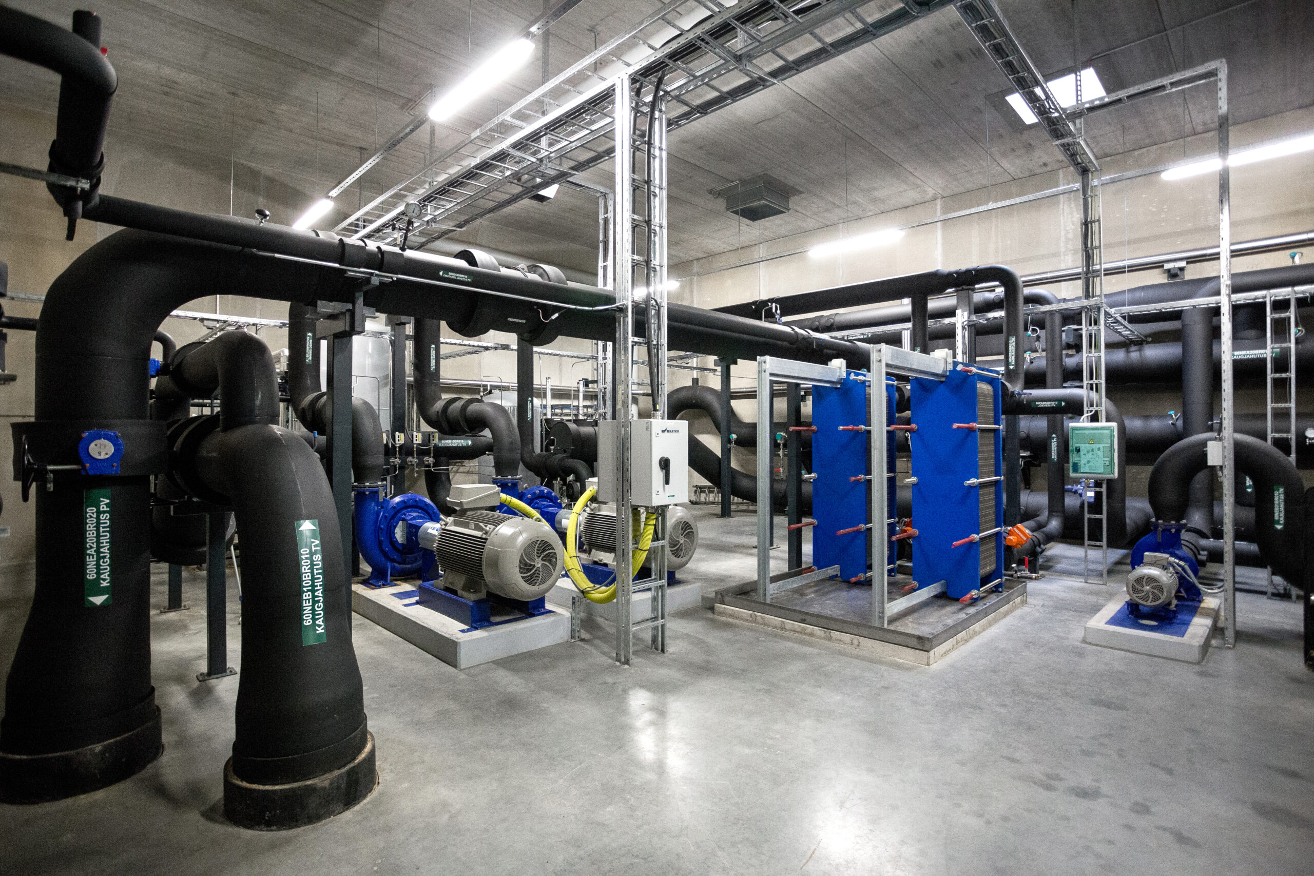 fortum remote cooling house