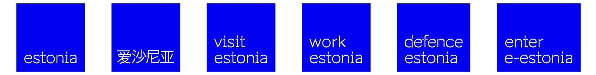 brand estonia wordmark examples