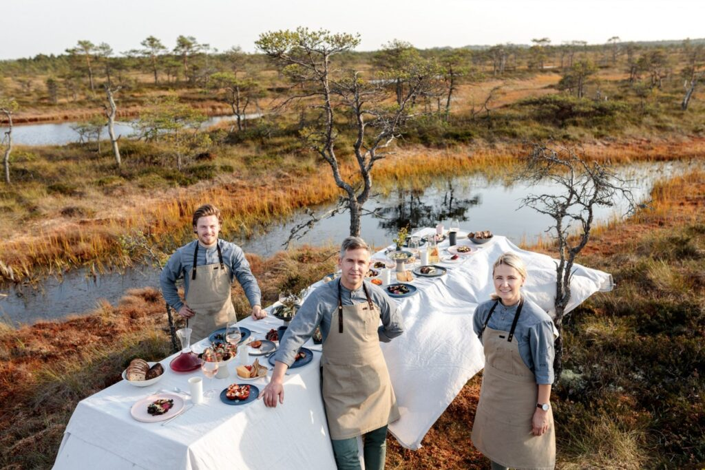 Chefs in bog by Renee Altrov