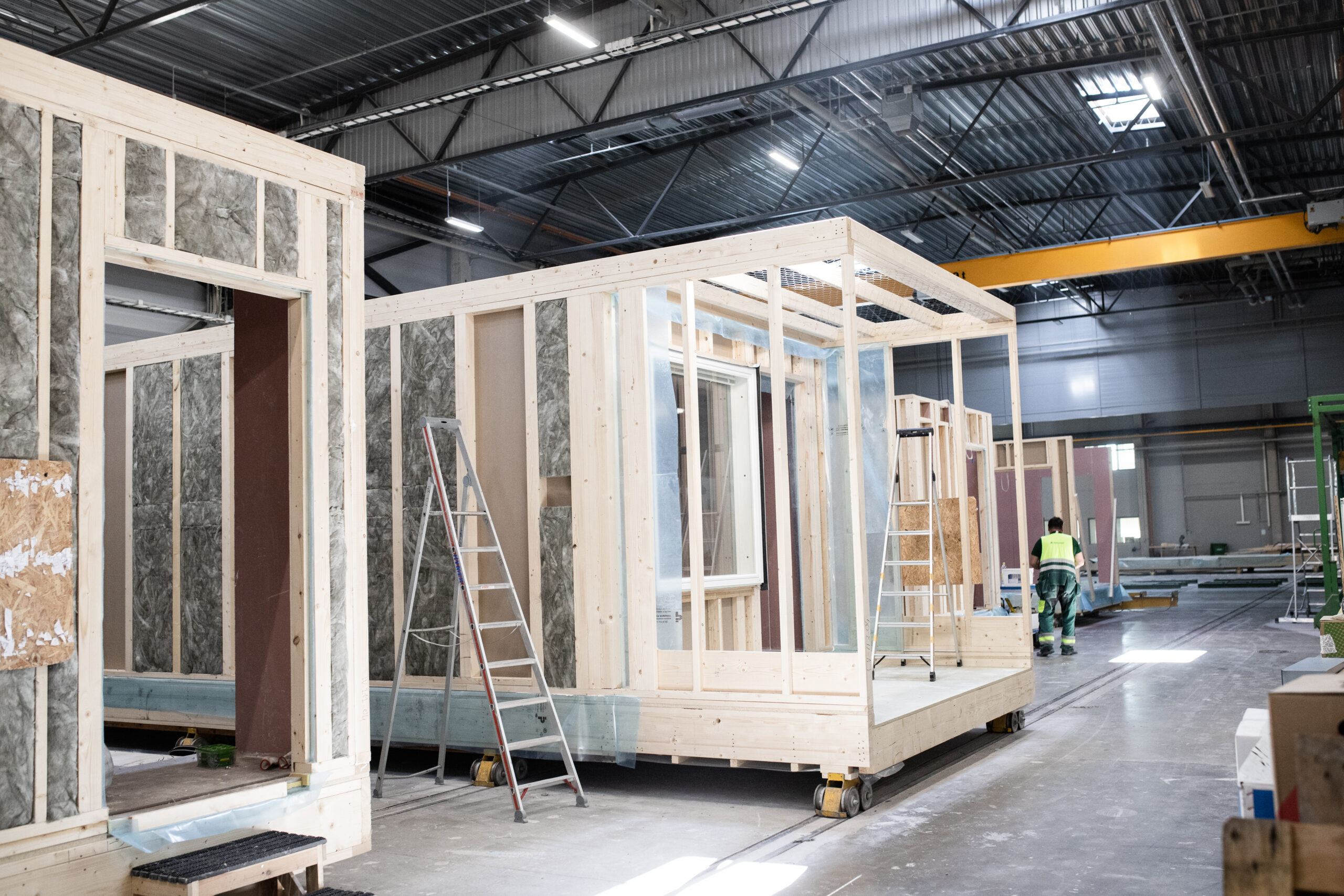 wooden house modules