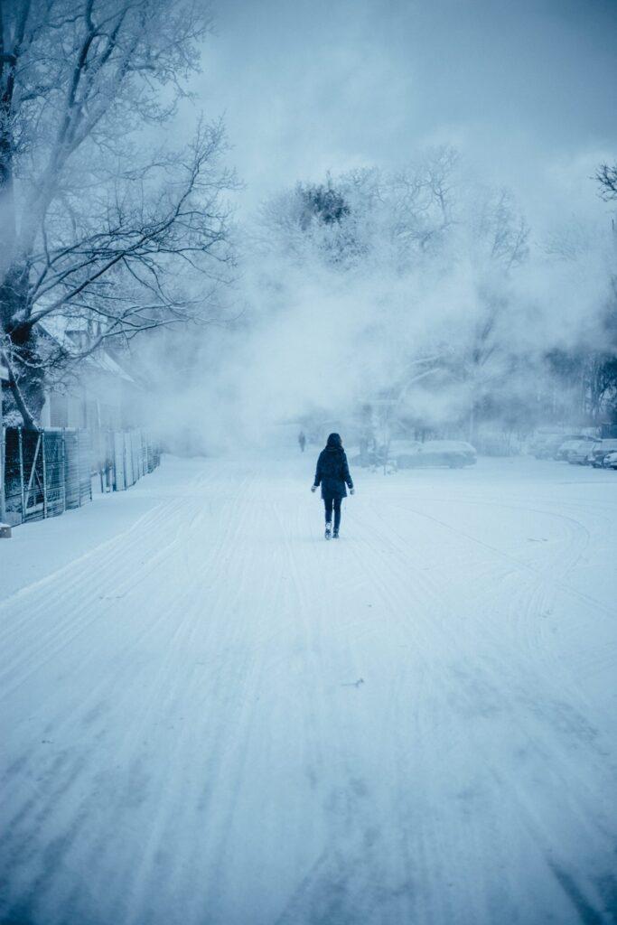 Winter Walk by Kajar Kattai