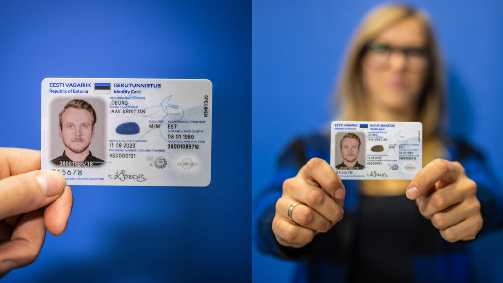 Presenting of the news ID card