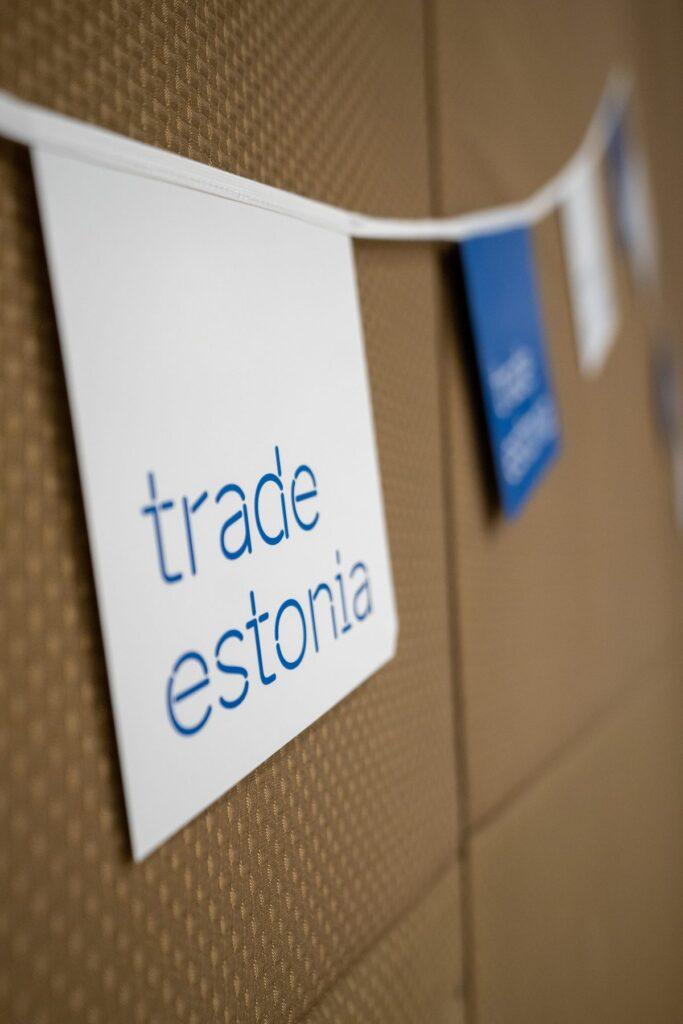 trade estonia banner flags