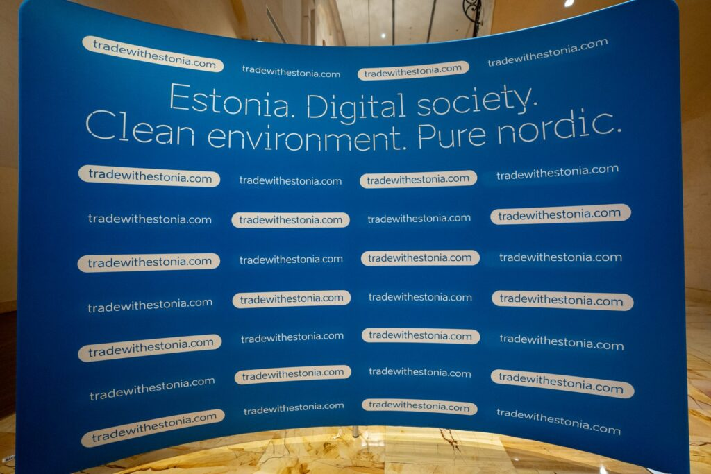 trade estonia photo wall
