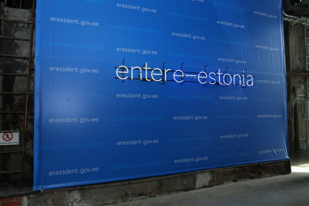 enter e-estonia photo wall