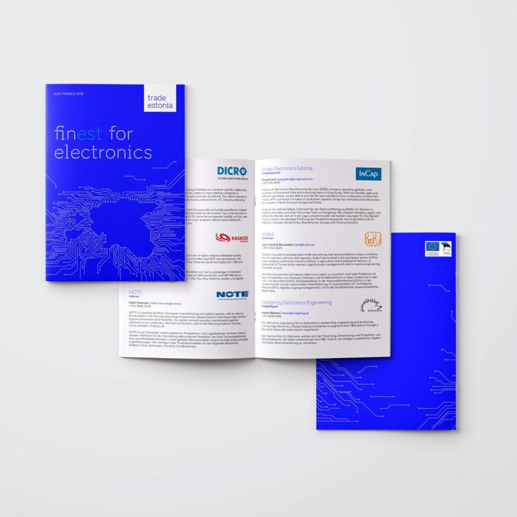 Electronica 2018 brochure example