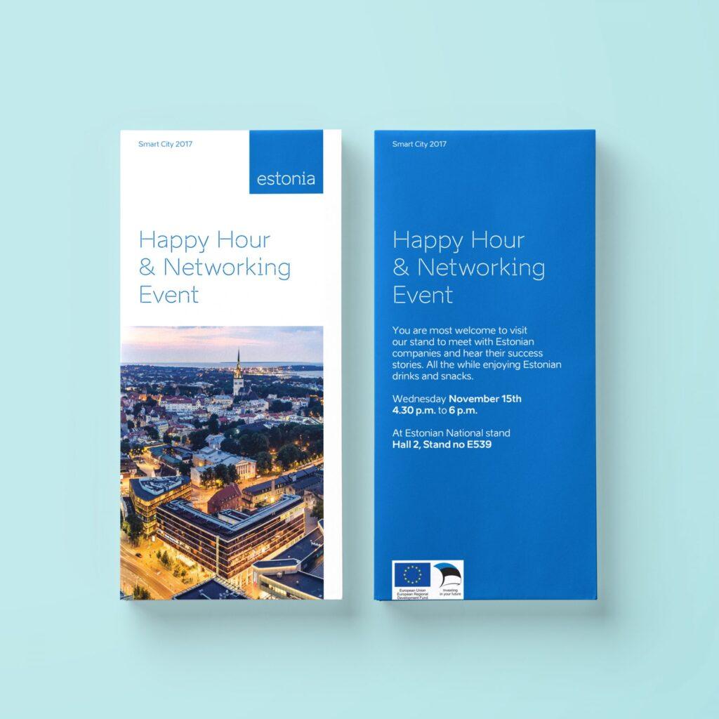 SmartCity 2017 booklet design