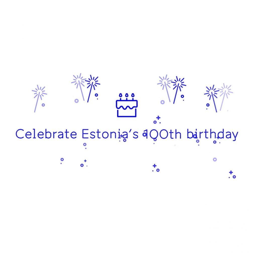 EV100 birthday card