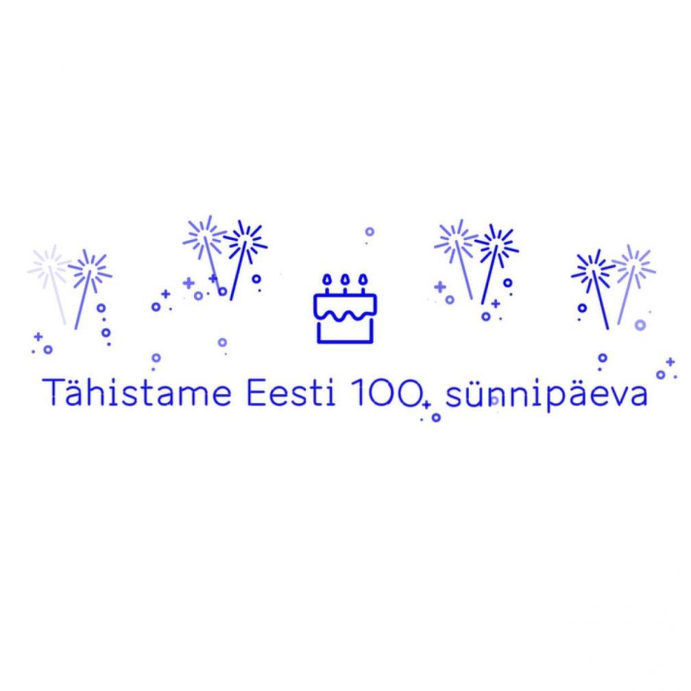 Eesti 100 sünnipäeva kaart