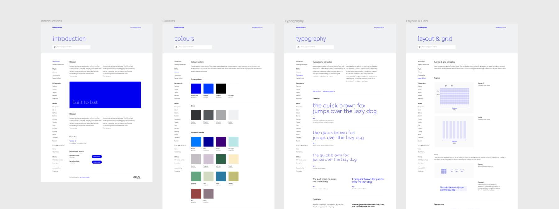 brand estonia digital design system