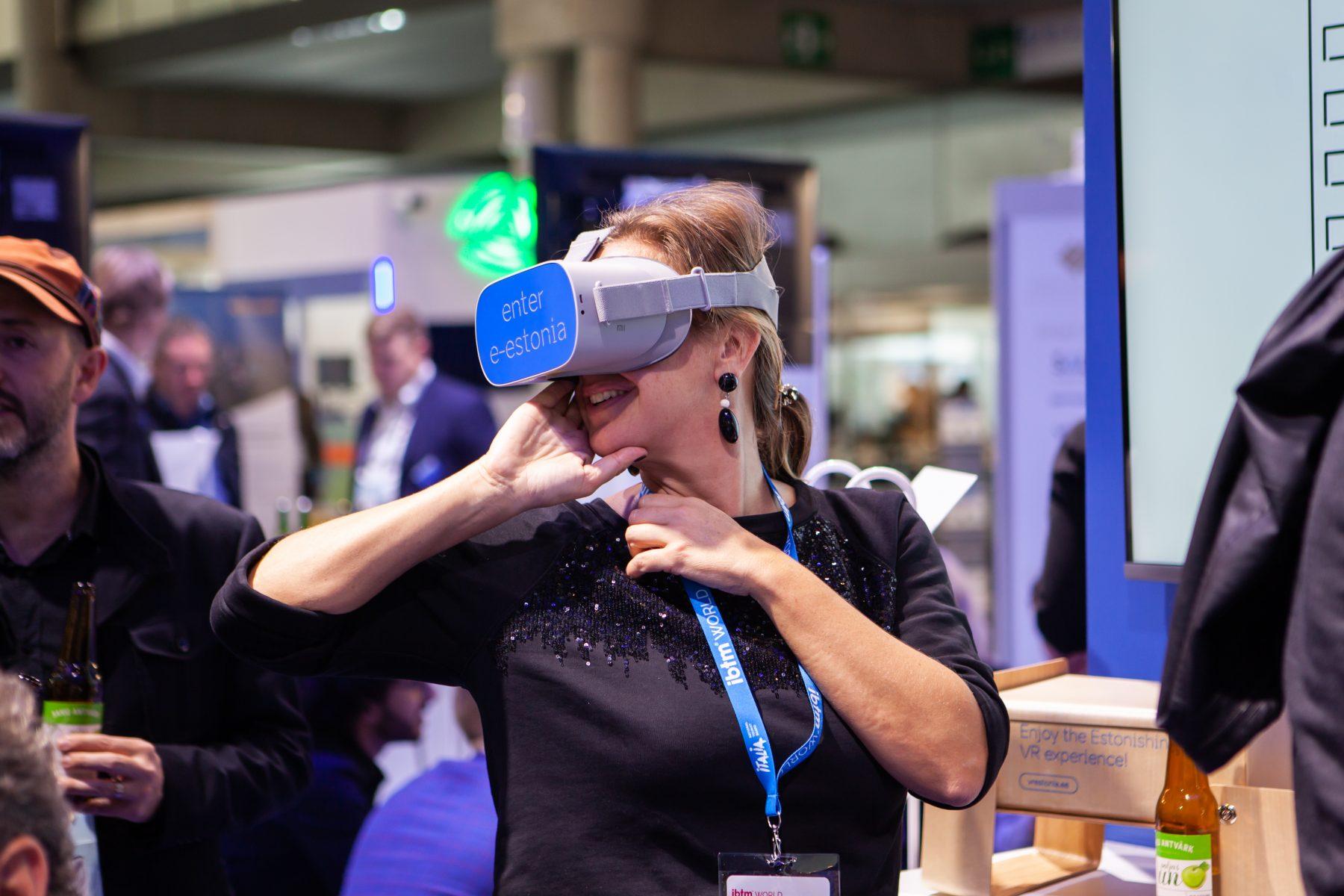Smart city expo VR experience