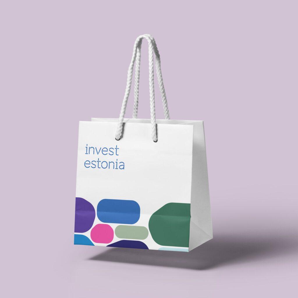 Invest in Estonia giftbag