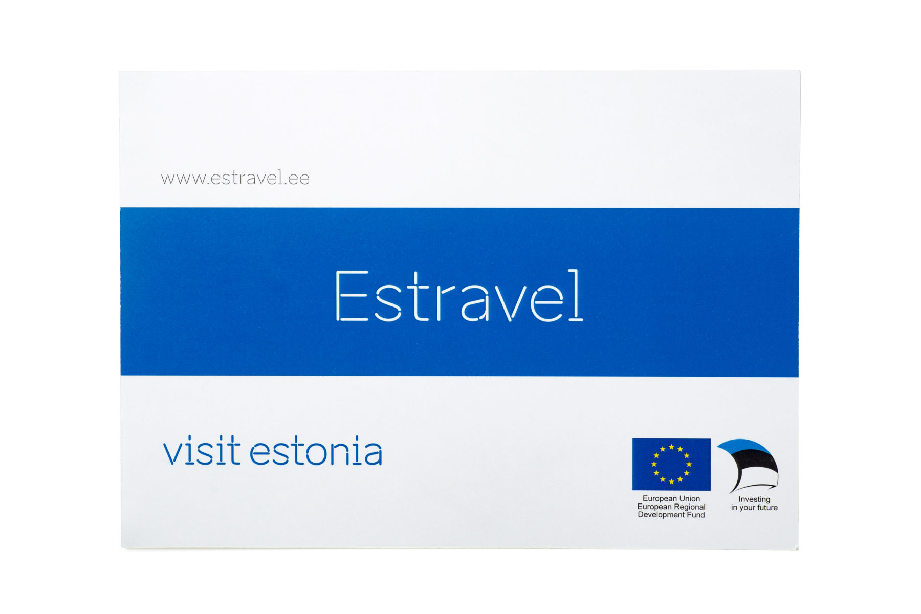 Estravel booklet cover