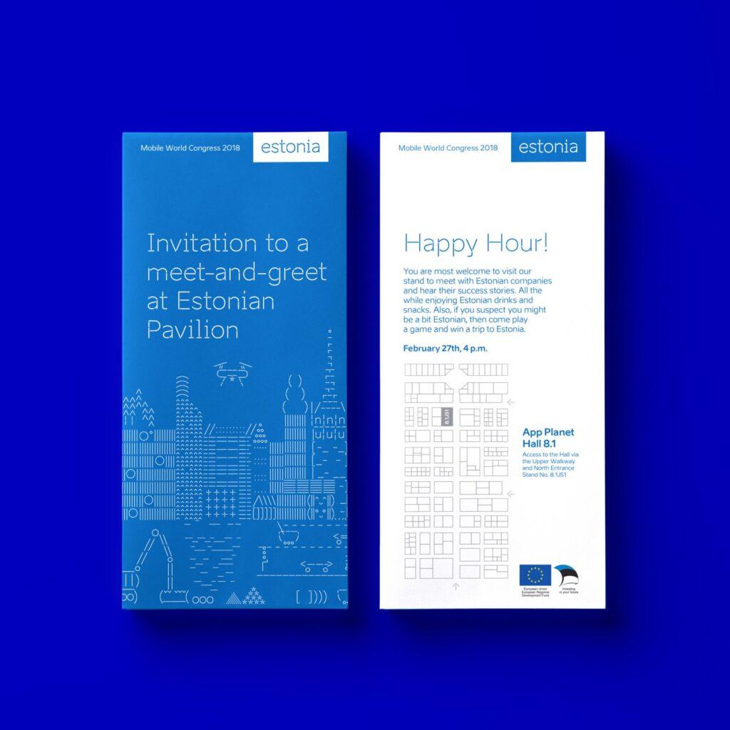 Mobile world congress invitation design