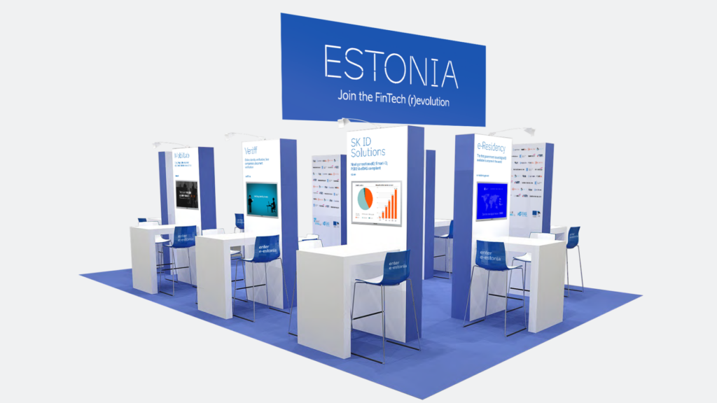 money2020 booth layout mockup
