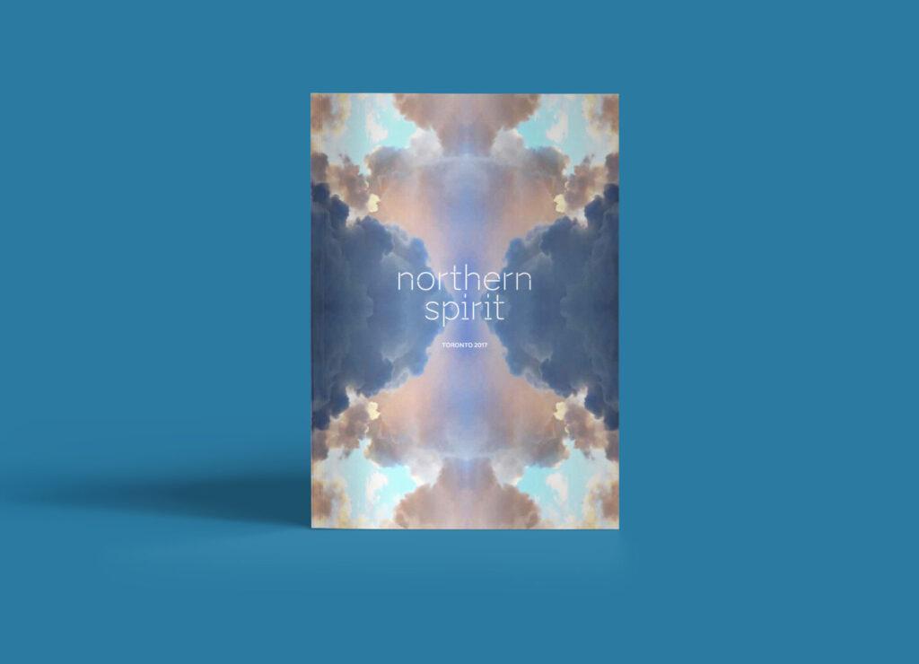 Northen Spirit booklet cover design