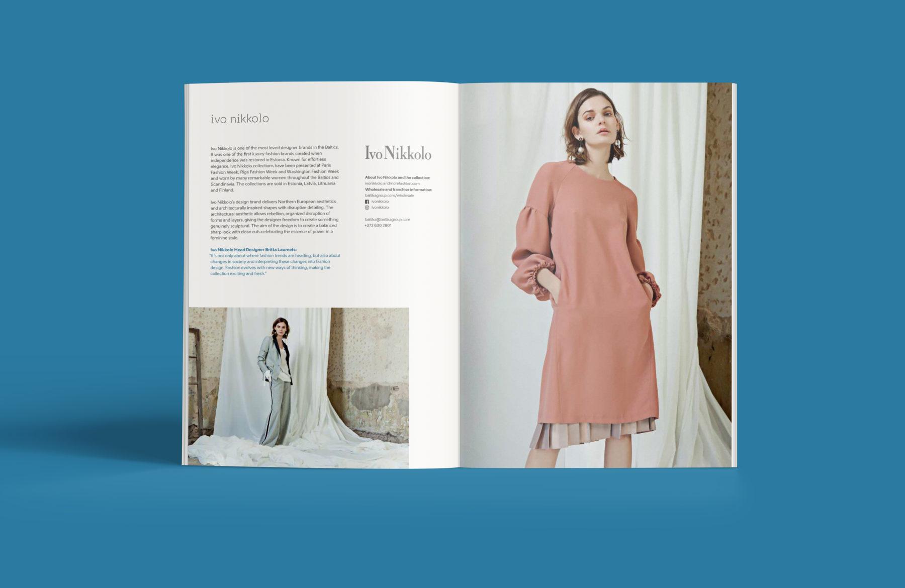 Northen Spirit booklet content design