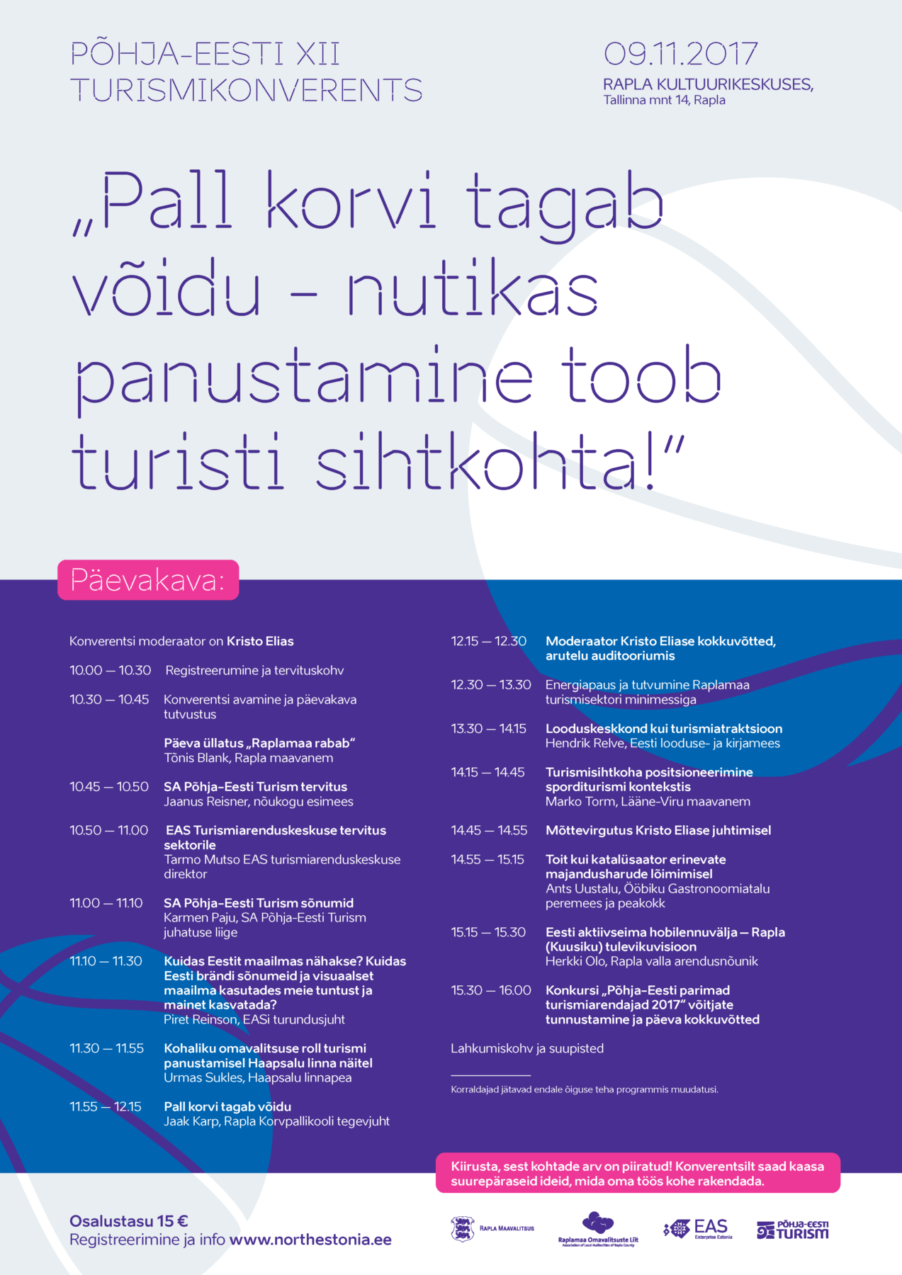 Conference poster design