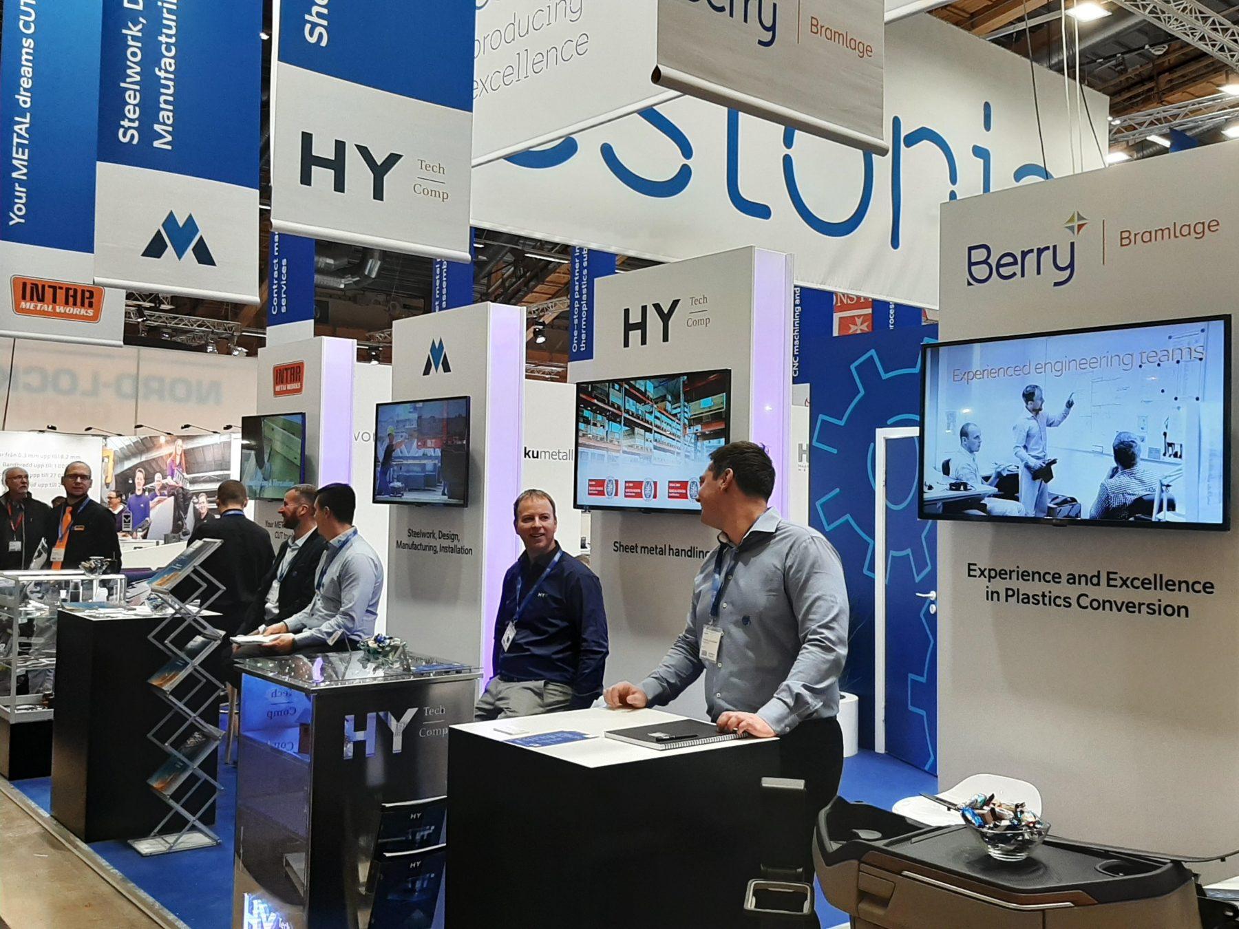 Elmia subcontracting expo booth