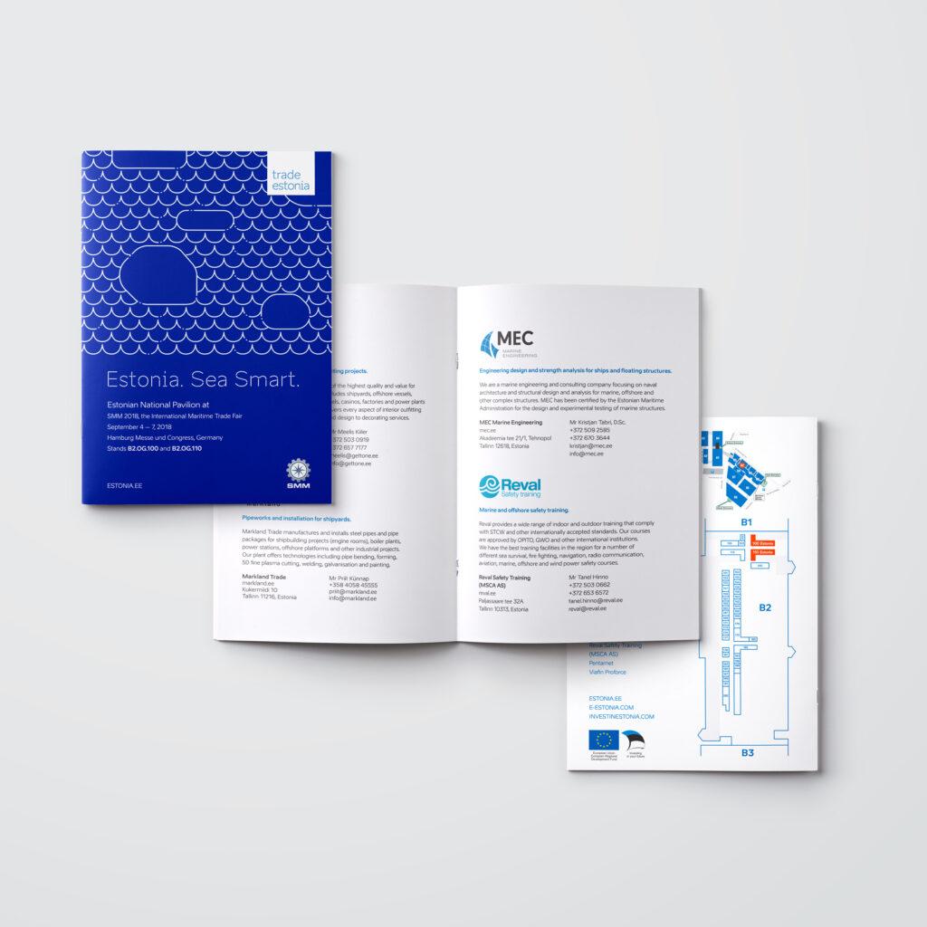 SMM 2018 expo brochure mockup