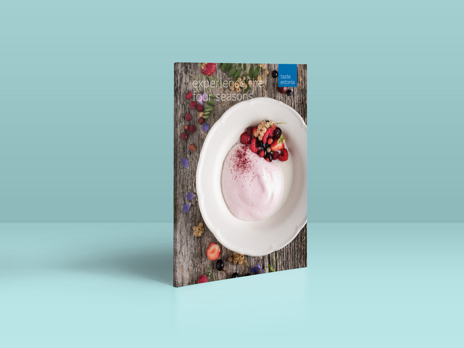 Taste Estonia booklet mockup