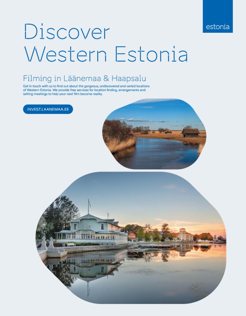 Discover western Estonia ad design