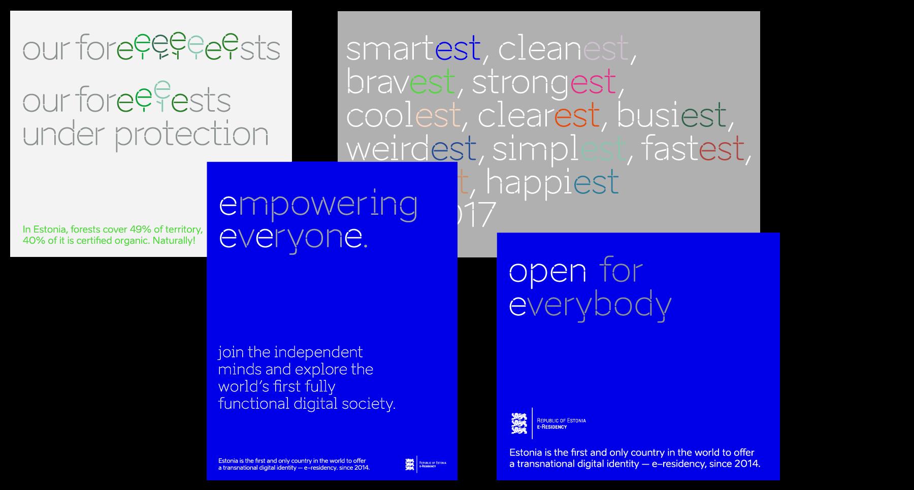colour examples brand estonia