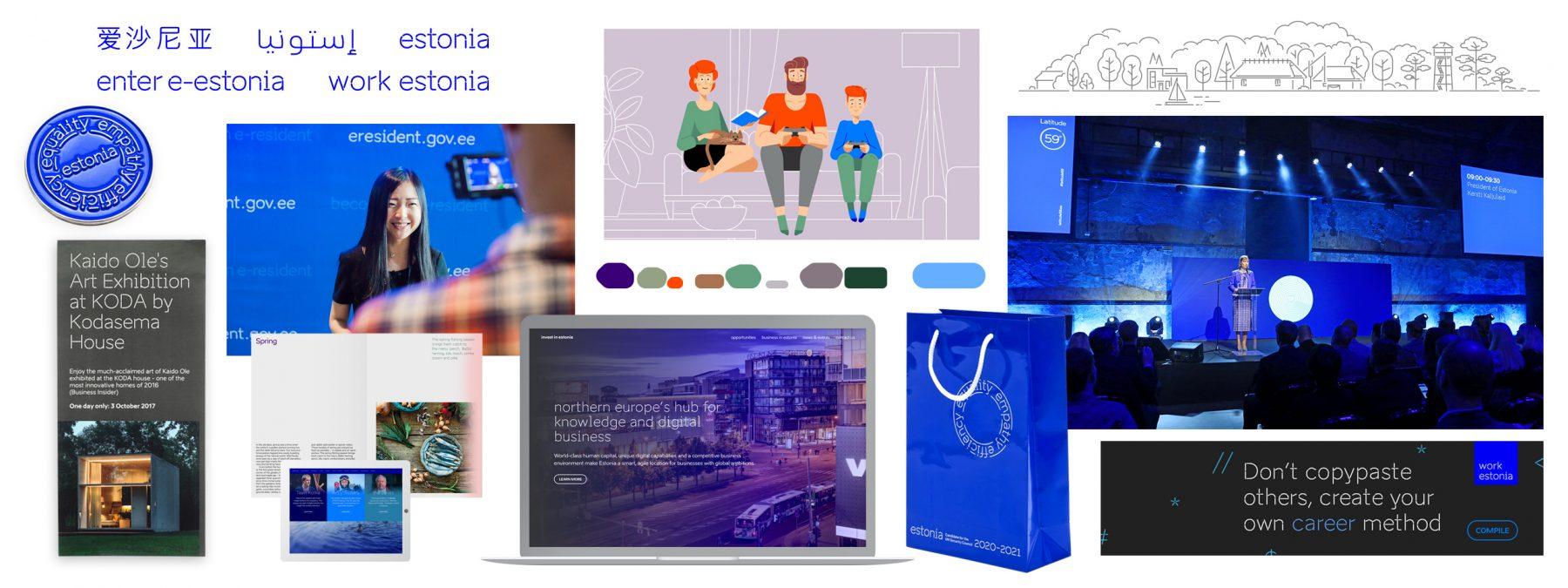 brand estonia visual language