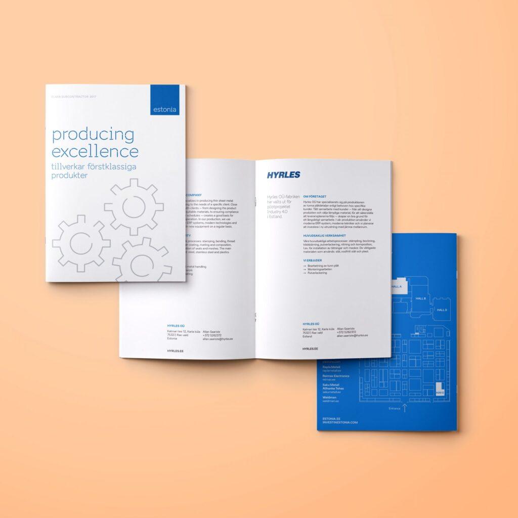 Elma subcontractor brochure design