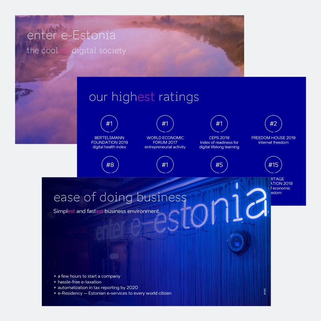 brand estonia presentation example