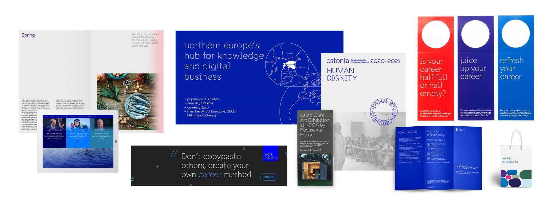 brand estonia brochure examples