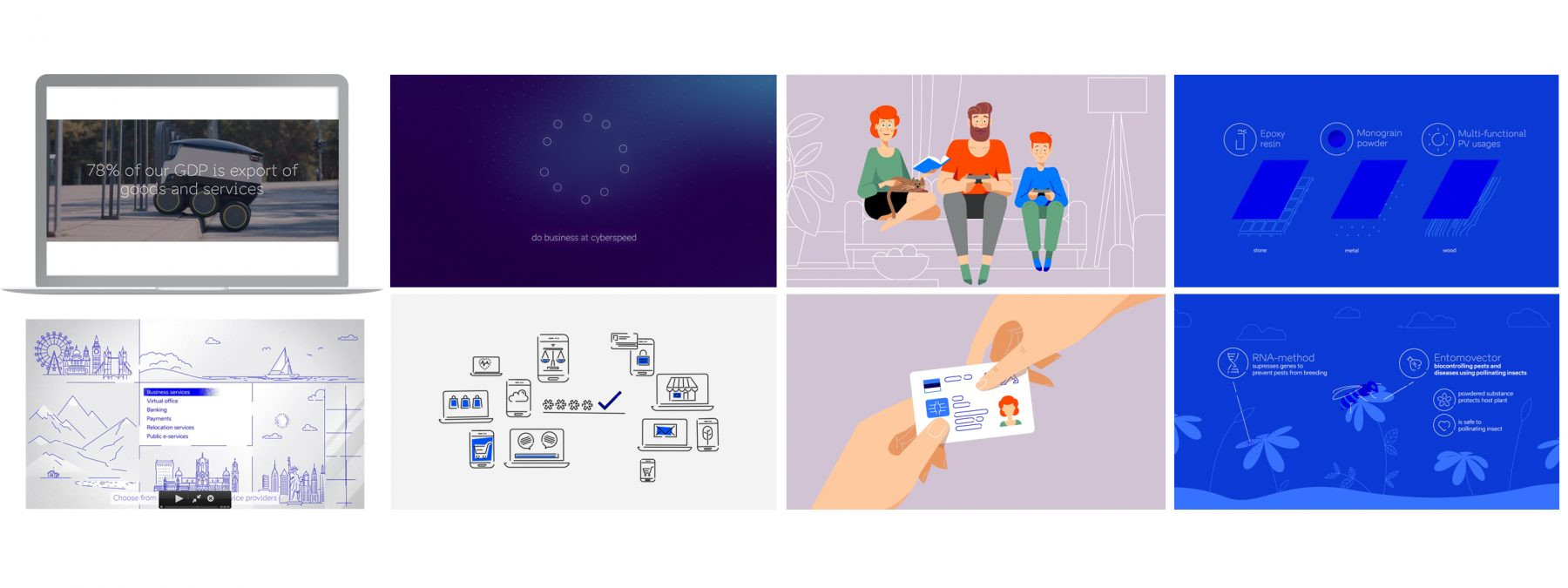 brand estonia video guidelines
