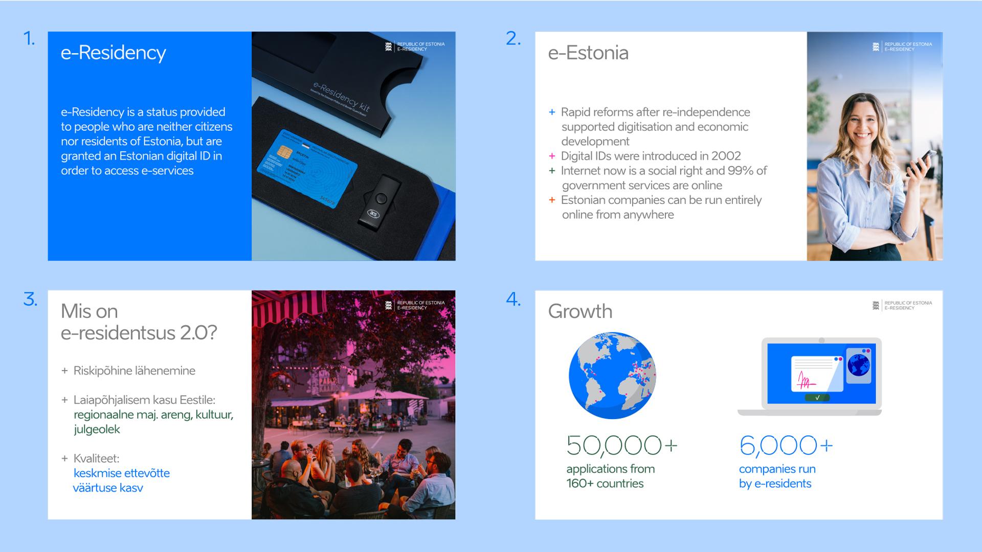 e-residency identity presentation