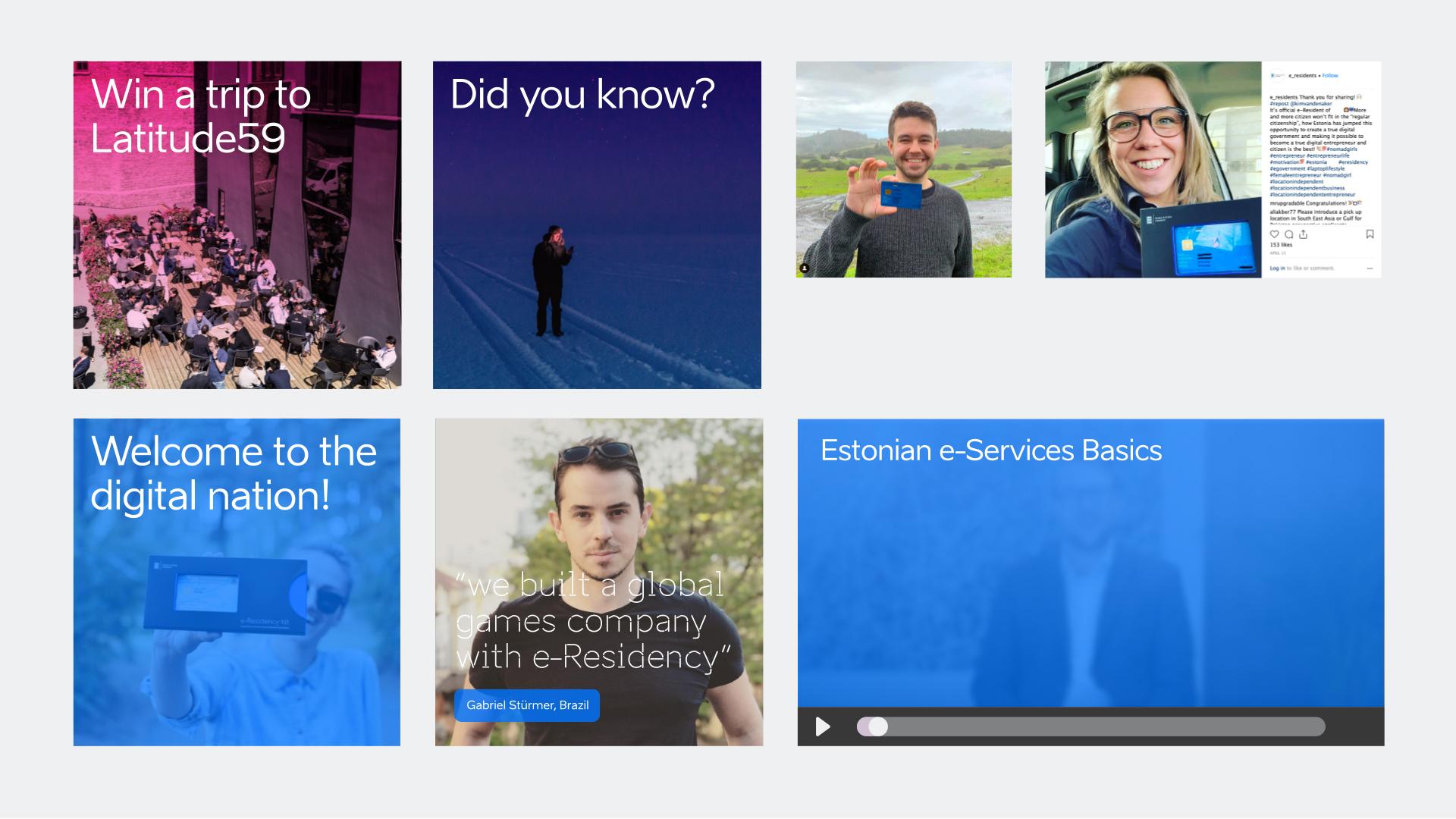 e-residency identity social media examples