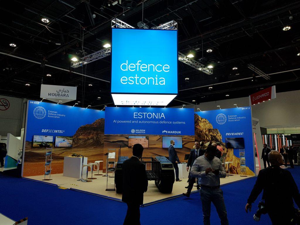 defence estonia fairbooth umex