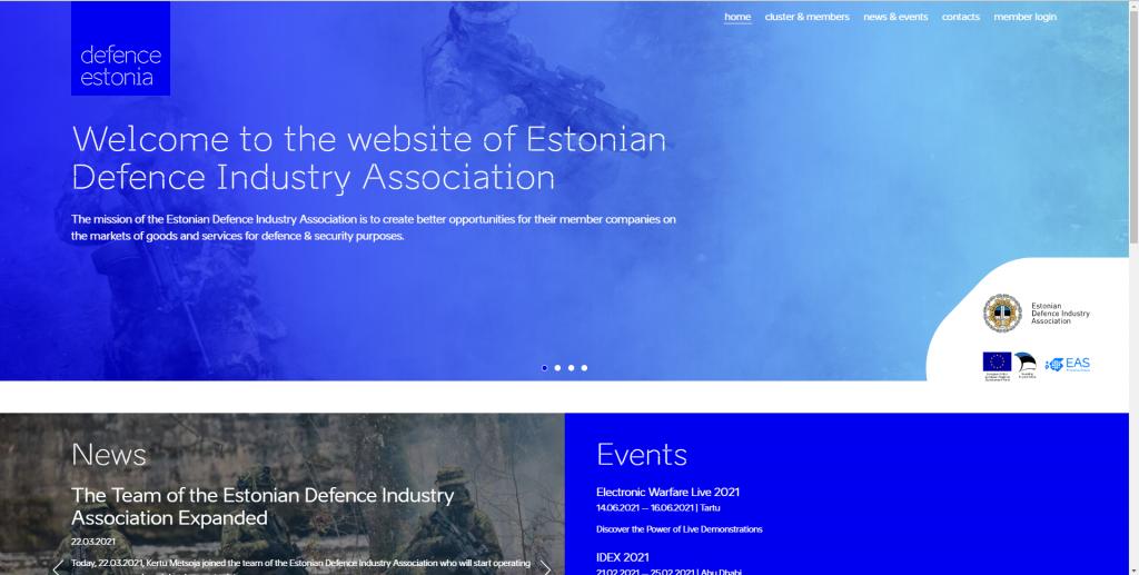 defence estonia website