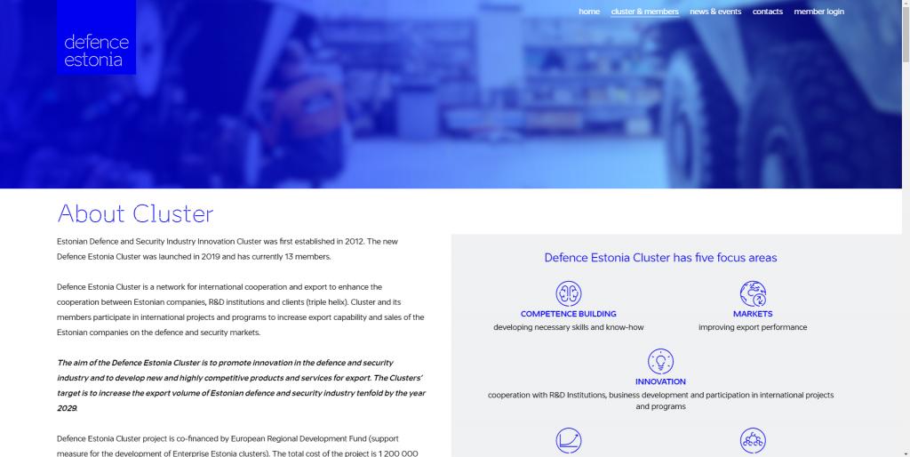 defence estonia veebileht